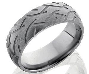Tire Tread Wedding Band 0 Fresh Tire Tread Rings