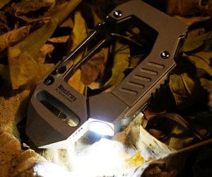 Titanium Carabiner Flashli...