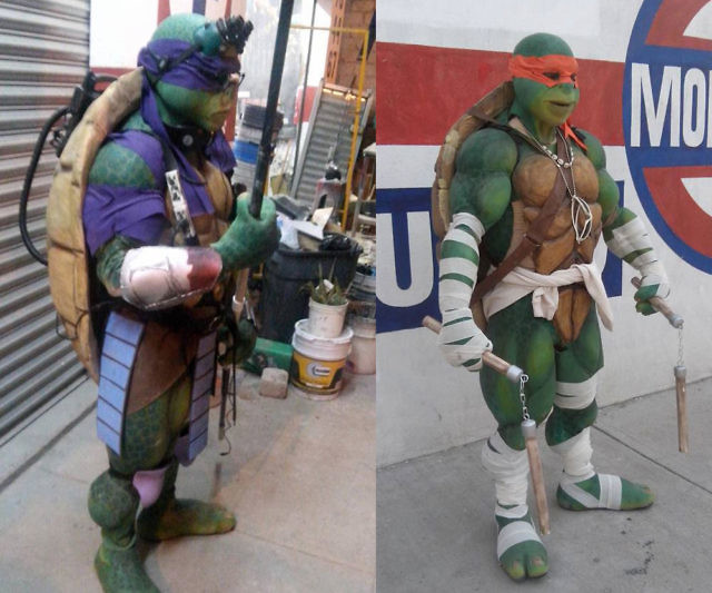 & Teenage Mutant Ninja Turtle Costumes
