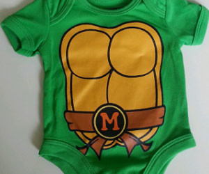 Ninja Turtles Onesie