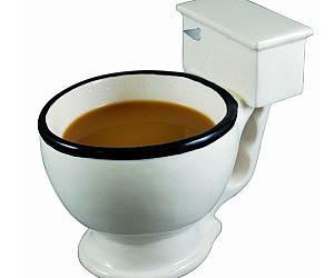 Latrine Bowl Coffee Mug