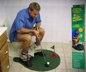 Toilet Mini-Golf