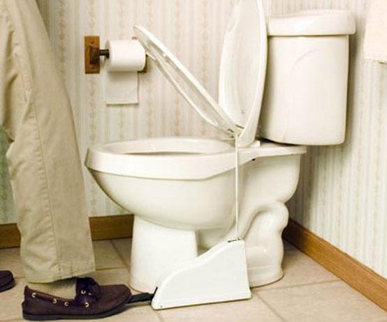 gold foil toilet seat. Toilet Seat Pedal