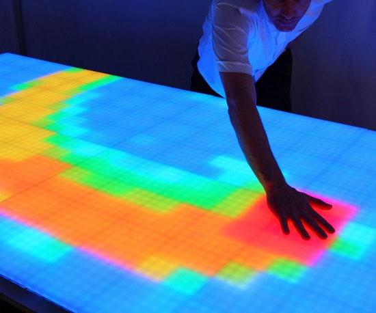 Touch Sensitive Surfaces