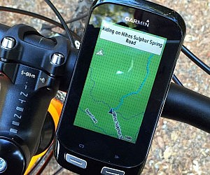 Touchscreen Bicycle GPS