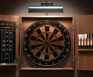 Vintage Tournament Dart Board