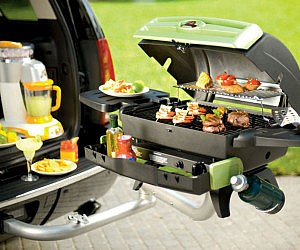 Towing Hitch Tailgating Grill