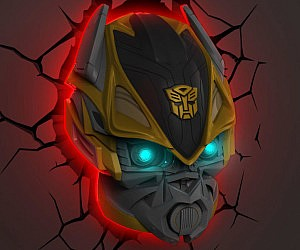 Transformers 3D Wall Night Light