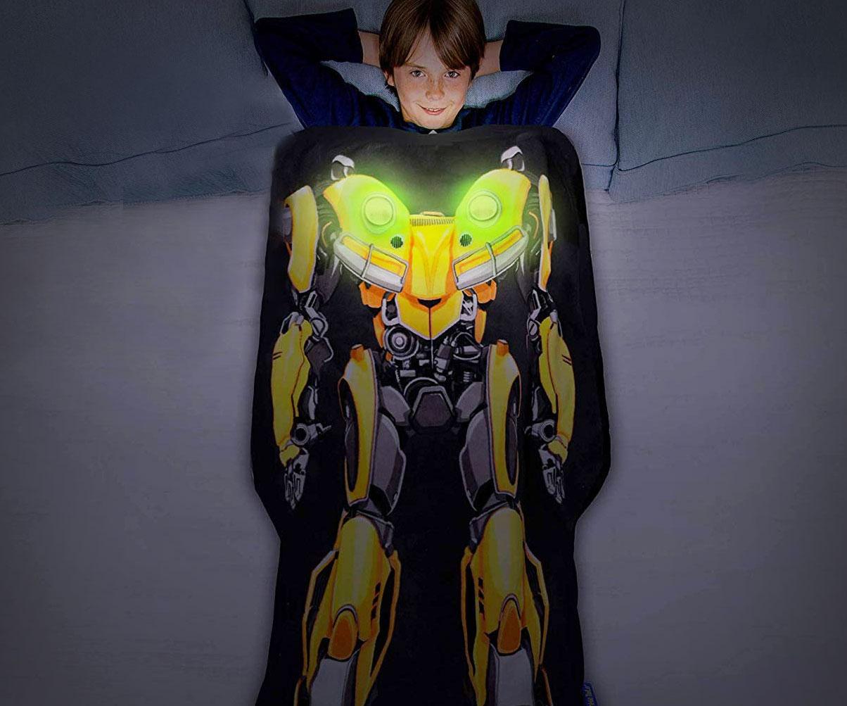Glow In The Dark Bumblebee Blanket