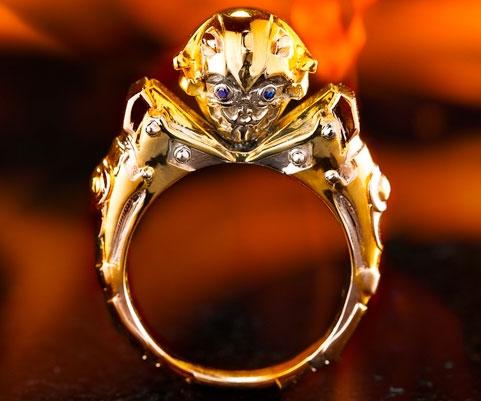Transformers Bumblebee Ring