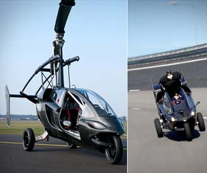 The Helicopter Motorcycle
