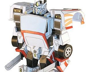 DIY Paper Transformers