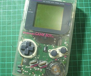 Transparent Nintendo Game Boy