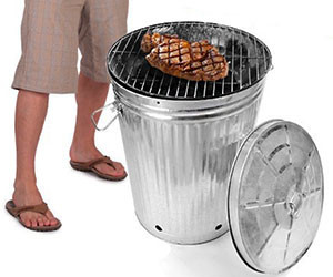 Trash Can BBQ