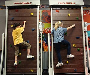 Treadmill Rock Climb Machine
