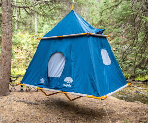 Treepod Suspended Tent & Hanging Tent Platform