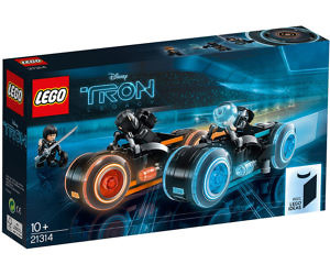 TRON Legacy LEGO Bike Set