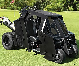Batman Tumbler Golf Kart