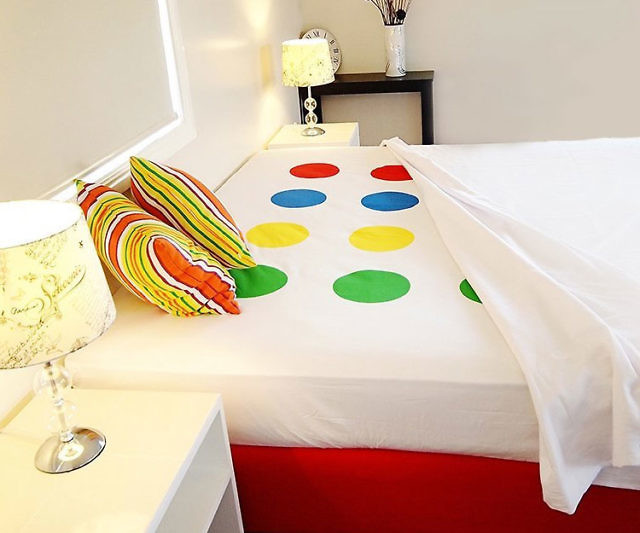 Beautiful Twister Bed Sheets