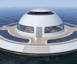 U F O Floating Home