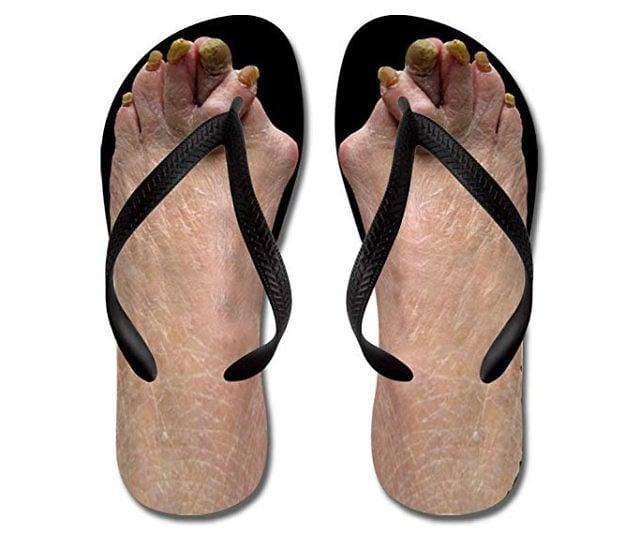 03857a84f0d3 Ugly Feet Flip Flops