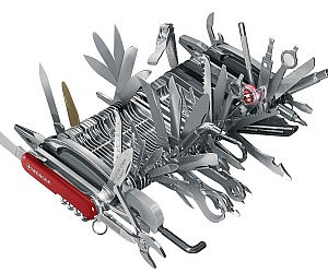 The Ultimate Swiss Army Knife