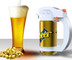 Ultrasonic Beer Can Foamer