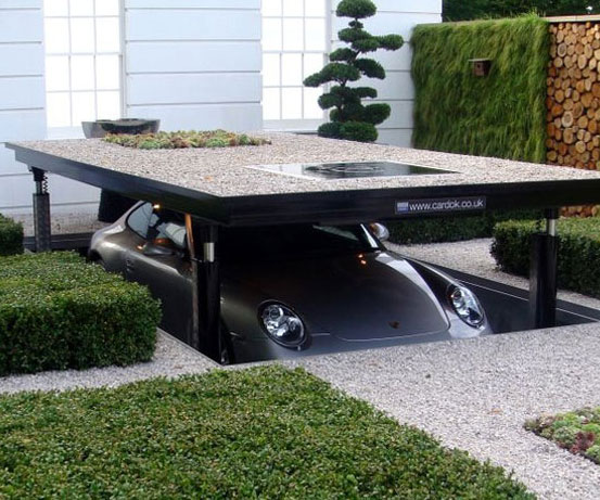 Underground Parking Dock