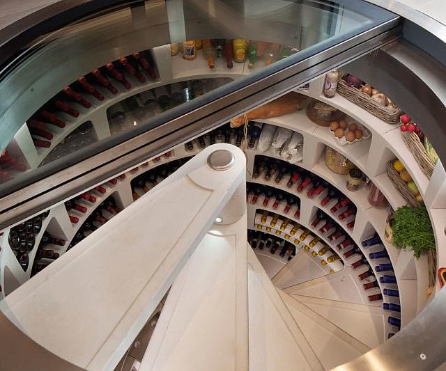 & Underground Spiral Wine Cellar