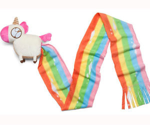 Unicorn Poop Rainbow Scarf