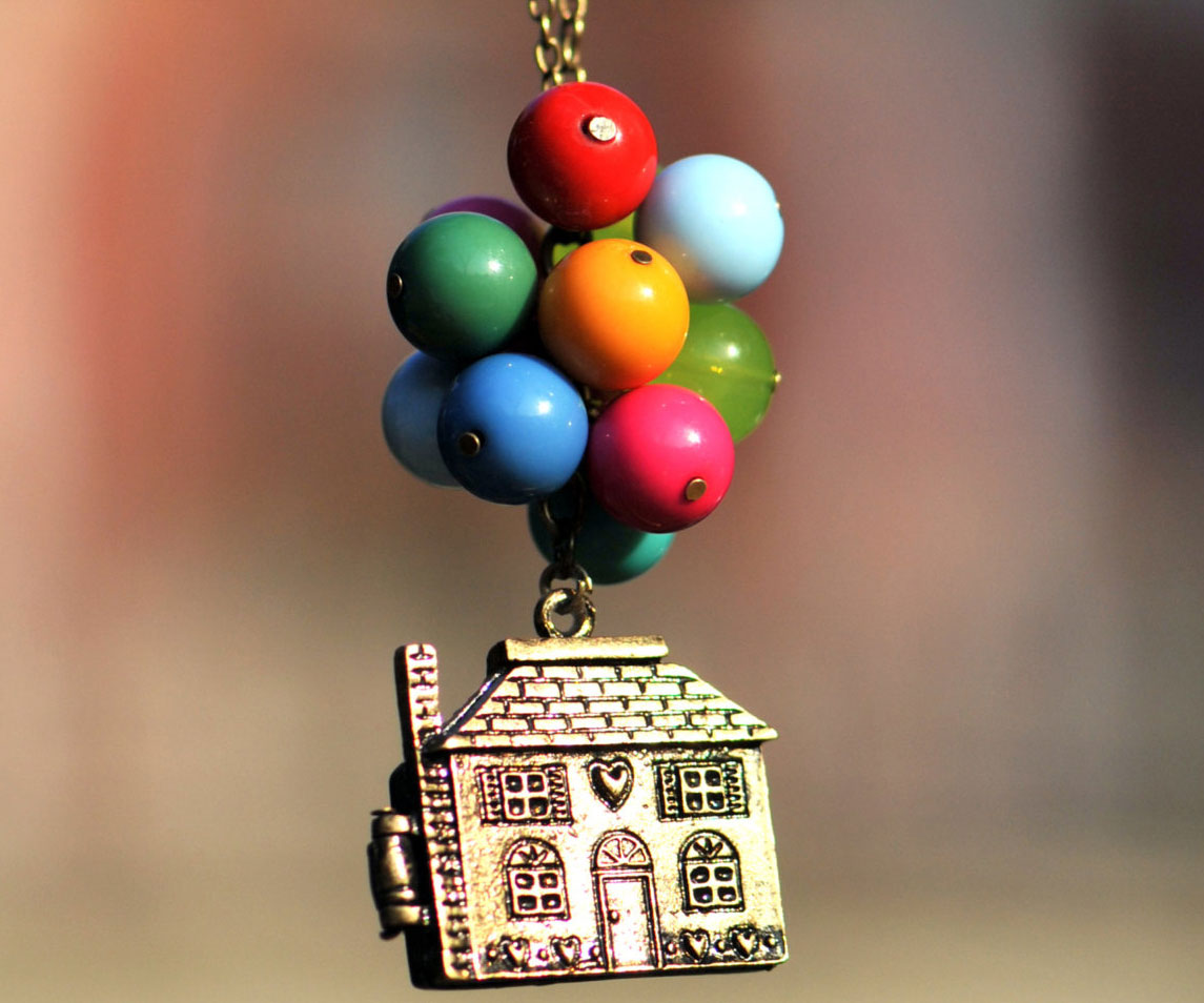 Up Movie Balloon Necklace