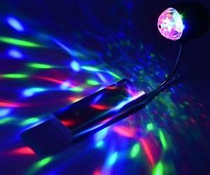 Disco Ball Hoodie - Bedroom disco lights