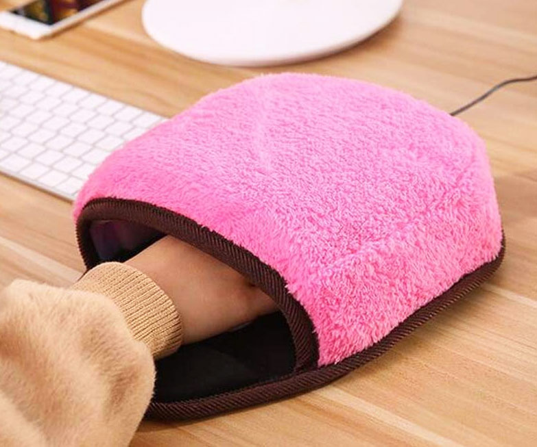 USB Heated Mouse Pad - coolthings.us
