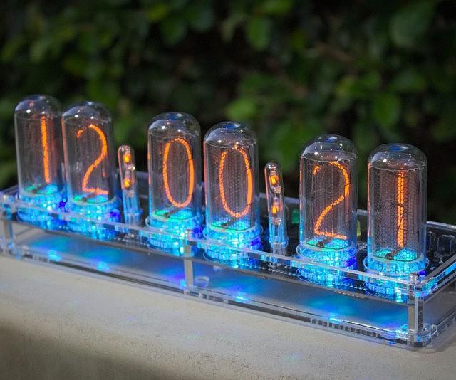 Vacuum Tube Nixie Clock