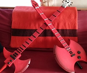 Vampire Queen Bass Axe