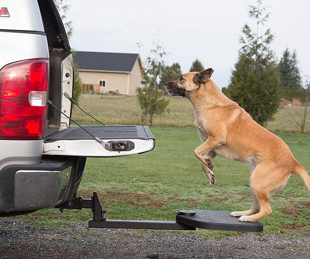 Vehicle Hitch Step For Dogs