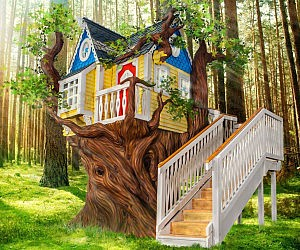 Victorian Styled Tree House