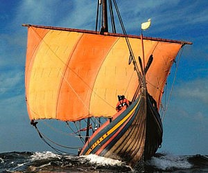 Custom Built Viking Ship