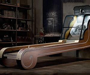 Vintage Arcade Skeeball Machine