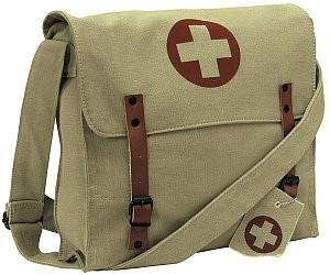 8ed97a9b8bfc Vintage Medic Messenger Bag