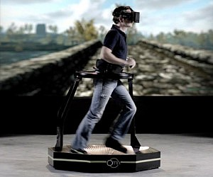 Virtual Reality Gaming Treadmill