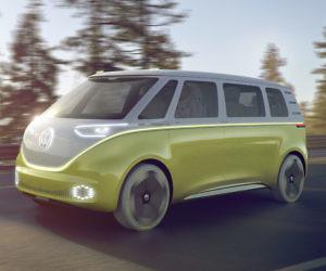 Volkswagen Autonomous Bus & Volkswagen Bus Camping Tent