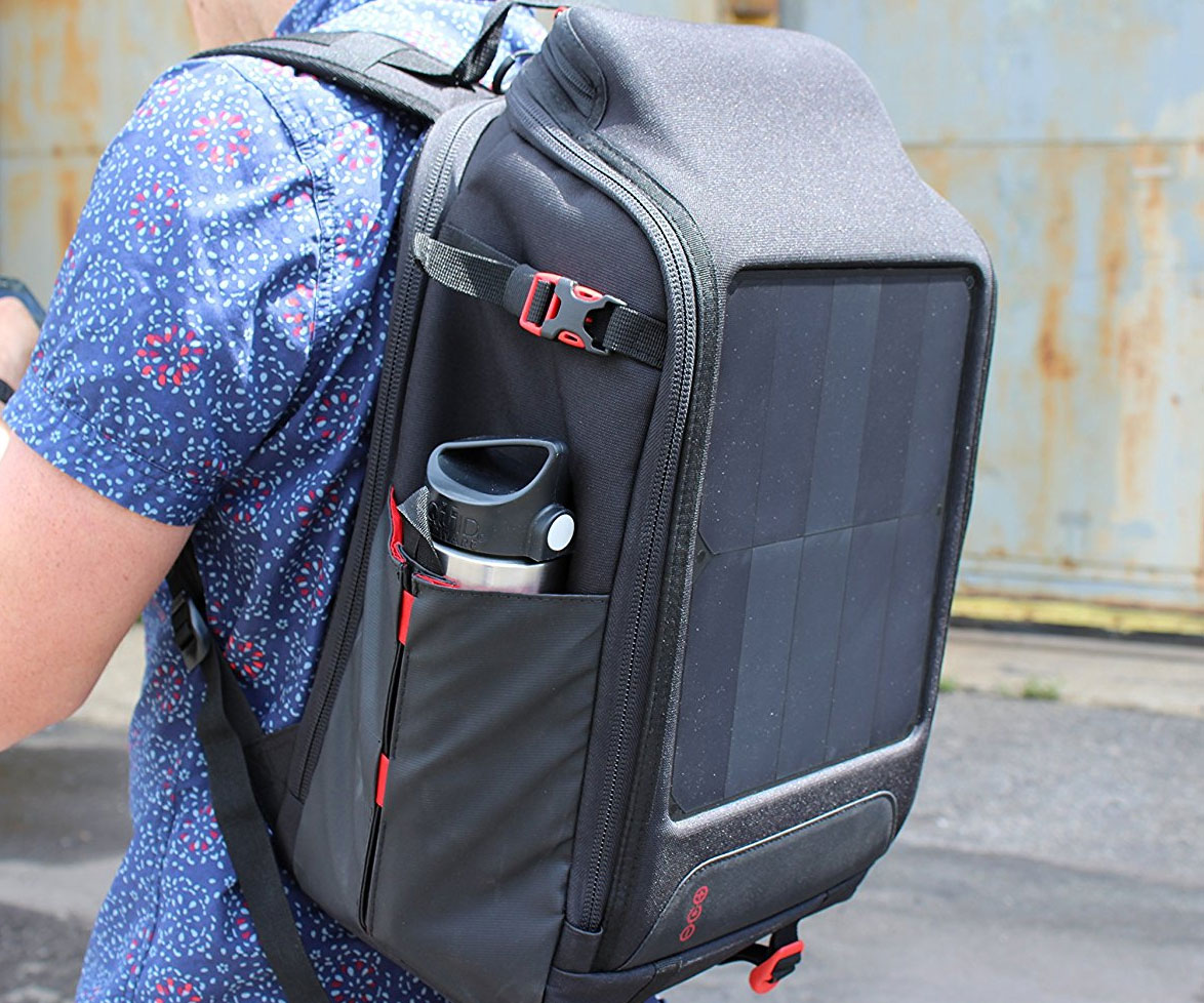 Off-Grid Solar Panel Backpack