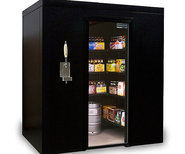 Small Refrigerator For Man Cave : Build the perfect man cave with these awesome diys ugly fridge