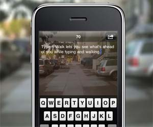 Walk While You Text App