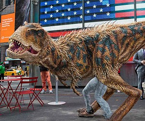 Walking Dinosaur Costume