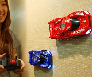Wall Climbing Remote Control Cars