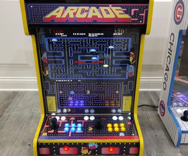 Mounted Arcade Machines