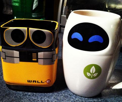 Wall E And Eve Mug Set