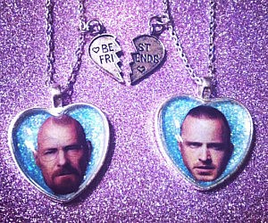 Breaking Bad Friendship Necklace